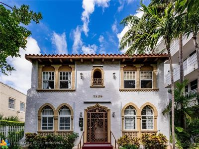 Miami Condo/Townhouse For Sale: 1528 Drexel Ave #1B