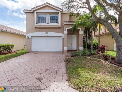 Coral Springs Single Family Home For Sale: 12314 NW 53rd St