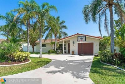 Deerfield Beach Single Family Home Backup Contract-Call LA: 908 SE 12th St