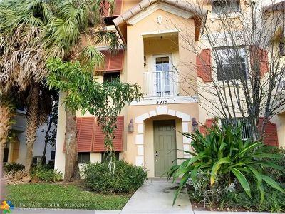 Coconut Creek Condo/Townhouse Backup Contract-Call LA: 3915 Laurel Ln #3915