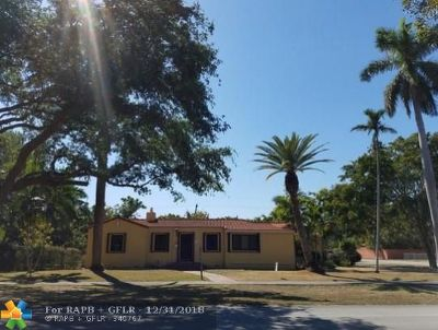 Miami Single Family Home For Sale: 500 South Dr