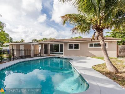 Fort Lauderdale Single Family Home For Sale: 1861 SW 36th Ave