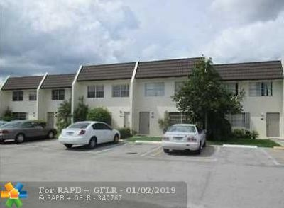 Coral Springs Condo/Townhouse For Sale: 9050 NW 28th Street #121