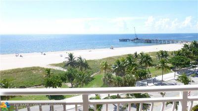 Pompano Beach Rental For Rent: 328 N Ocean Blvd #702