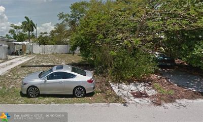 Oakland Park Residential Lots & Land For Sale: 161 NW 45th St