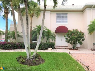 Boca Raton Condo/Townhouse Backup Contract-Call LA: 5165 Lake Catalina Dr #D