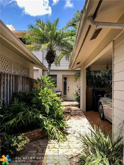 Wilton Manors Single Family Home For Sale: 505 NE 19th St
