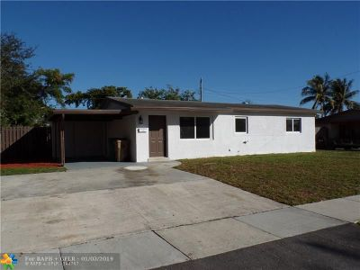 Davie Single Family Home For Sale: 6211 SW 39th St