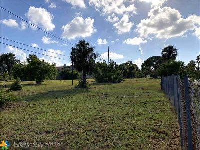Fort Lauderdale Residential Lots & Land For Sale: 475 SW 27th Ave