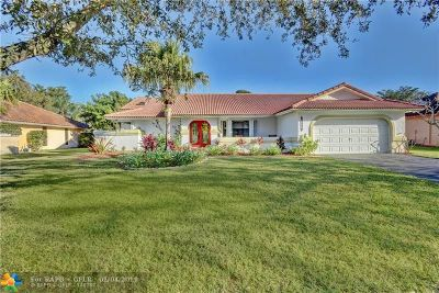Coral Springs Single Family Home For Sale: 8851 NW 49th Dr