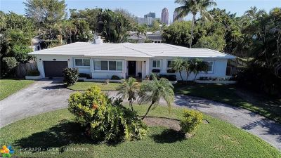 Fort Lauderdale Single Family Home For Sale: 2408 NE 27th Ave
