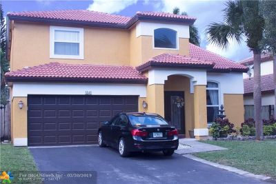 Coconut Creek Single Family Home For Sale: 5541 NW 50th Av