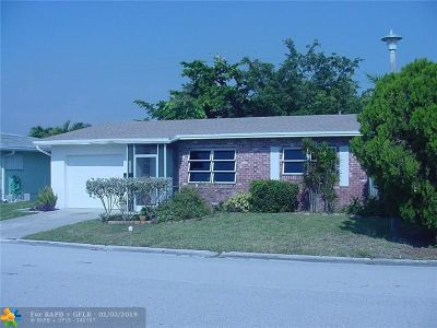 Margate Single Family Home For Sale: 6945 NW 17th Ct