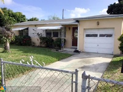 Hollywood Single Family Home For Sale: 2506 Fletcher Ct