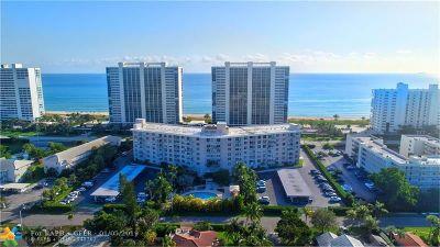Boca Raton Condo/Townhouse For Sale: 2851 S Ocean Blvd #5P