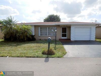 Pompano Beach Single Family Home For Sale: 1260 NW 45th Ct