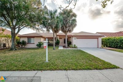 Coconut Creek Single Family Home For Sale: 4050 NW 54th Ct