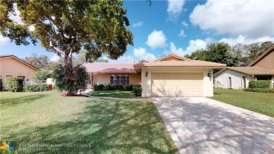 Coral Springs Single Family Home For Sale: 10419 NW 2nd St