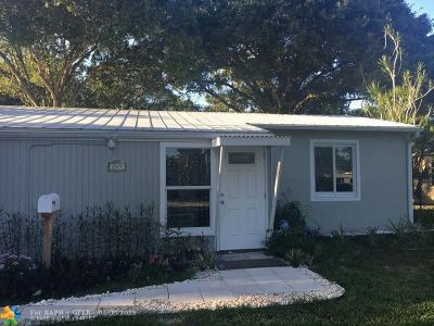 Fort Lauderdale Single Family Home For Sale: 709 SW 19th St