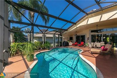 Coral Springs Single Family Home Backup Contract-Call LA: 6450 NW 41st St