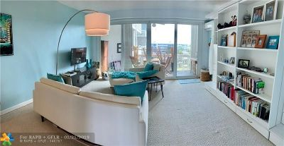 Fort Lauderdale Condo/Townhouse For Sale: 1900 S Ocean Dr #507