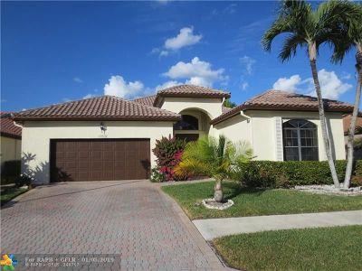 Boca Raton Single Family Home For Sale: 22676 Esplanada Cir