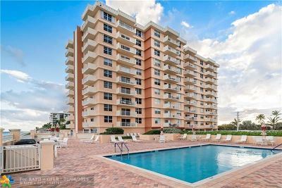 Highland Beach Condo/Townhouse For Sale: 4511 S Ocean Blvd #205
