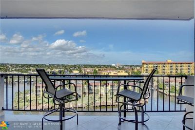 Pompano Beach Condo/Townhouse For Sale: 801 S Federal Hwy #915