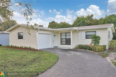 Sunrise Single Family Home For Sale: 5920 NW 15th St