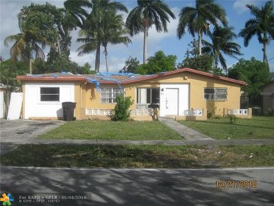 Lauderdale Lakes Single Family Home For Sale: 3515 NW 40th St