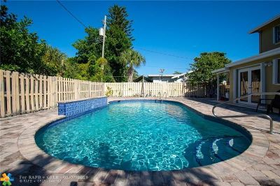 Pompano Beach Single Family Home For Sale: 731 NE 13th Ave