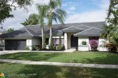 Plantation Single Family Home For Sale: 10761 NW 5th St