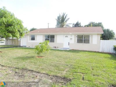 Boynton Beach Single Family Home For Sale: 302 SW 5th Ln