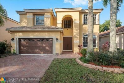 Coral Springs Single Family Home For Sale: 1236 NW 117th Ave