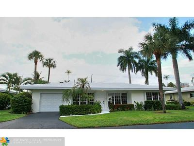 Lauderdale By The Sea Single Family Home For Sale: 1431 S Ocean Blvd #10
