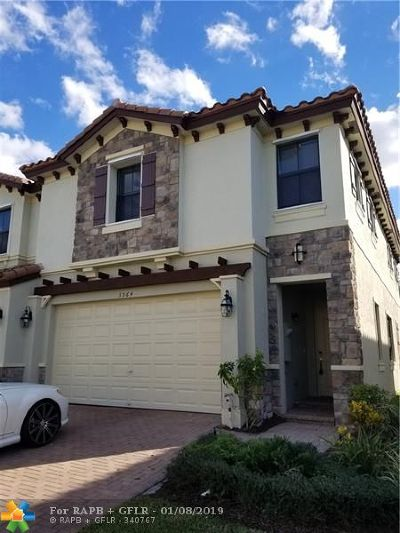 Coconut Creek Condo/Townhouse For Sale: 3964 Devenshire Ct #3964