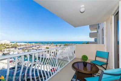 Fort Lauderdale Condo/Townhouse For Sale: 1 Las Olas Circle #615