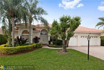 Boca Raton Single Family Home For Sale: 21389 Shannon Ridge Way