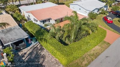 Broward County Single Family Home For Sale: 4311 NE 13th Ave