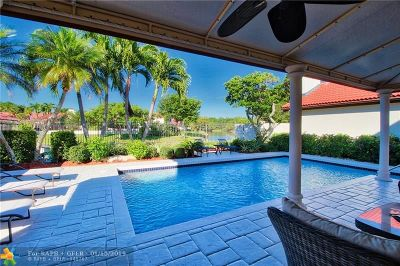 Boca Raton Single Family Home For Sale: 21868 Town Place Dr