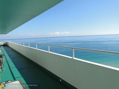 Lauderdale By The Sea Condo/Townhouse For Sale: 4050 N Ocean Dr #1706