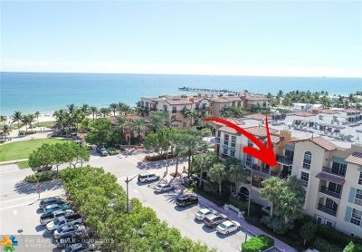 Lauderdale By The Sea Condo/Townhouse For Sale: 4445 El Mar Dr #2-308