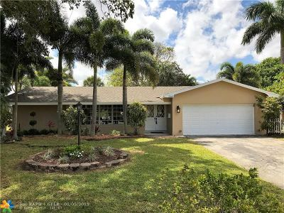 Fort Lauderdale Single Family Home For Sale: 2365 SW 27th Ter