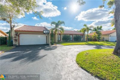 Coral Springs Single Family Home Backup Contract-Call LA: 8300 NW 14th Ct