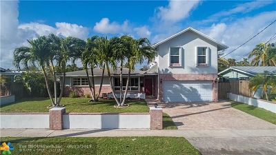 Pompano Beach Single Family Home For Sale: 801 SE 4th Ave