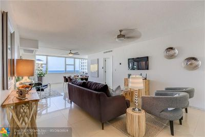 Fort Lauderdale Condo/Townhouse For Sale: 3003 Terramar St #1401