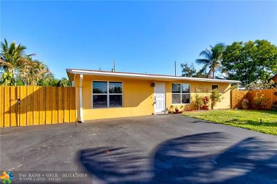 Pompano Beach Single Family Home For Sale: 2800 NE 2nd Ter