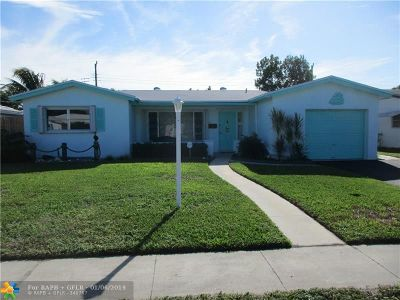 Lauderdale Lakes Single Family Home For Sale: 3450 NW 33rd Ct