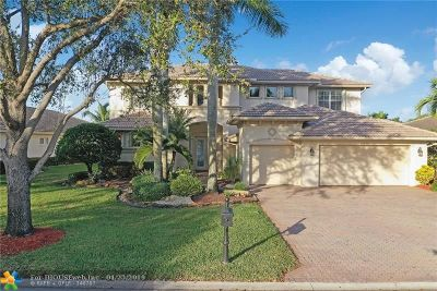 Parkland Single Family Home For Sale: 12625 NW 76th St