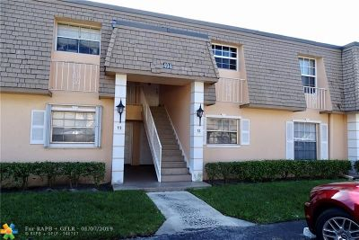Plantation Condo/Townhouse For Sale: 404 NW 70th Ave #117